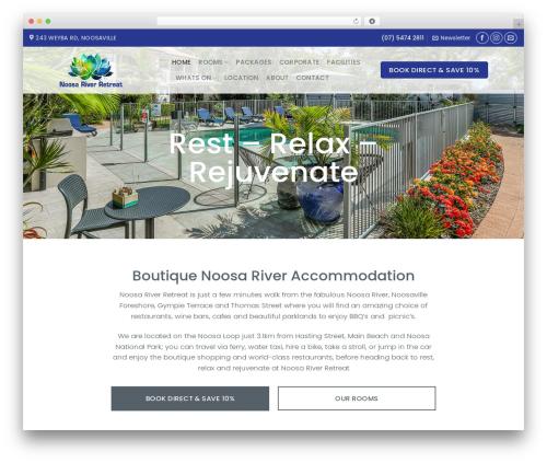 Flatsome landscaping WordPress theme - noosariverretreat.com