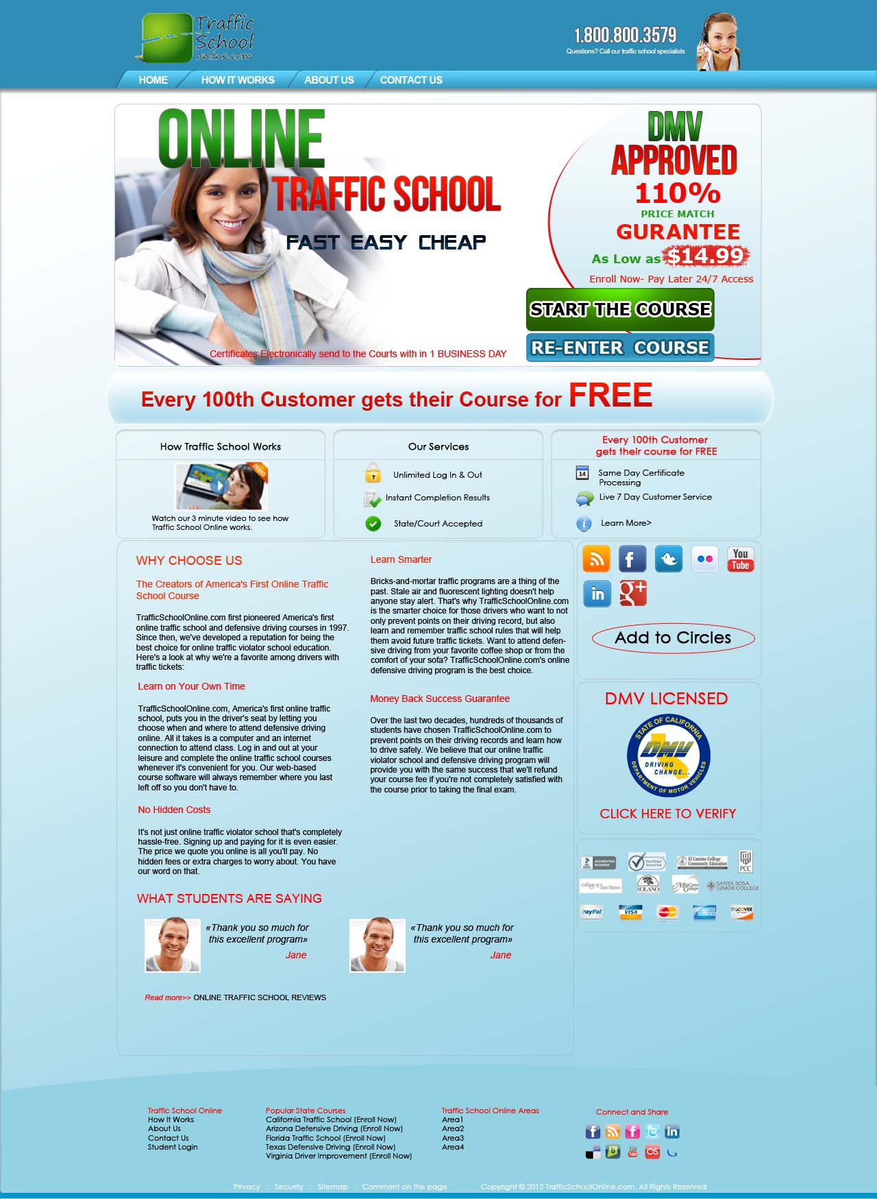 Traffic School WordPress news theme