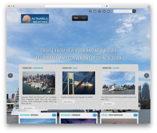 Travel Extend WordPress travel theme - nycruiseships.com