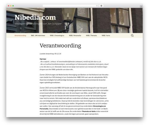 Twenty Thirteen WordPress theme - nibedia.com