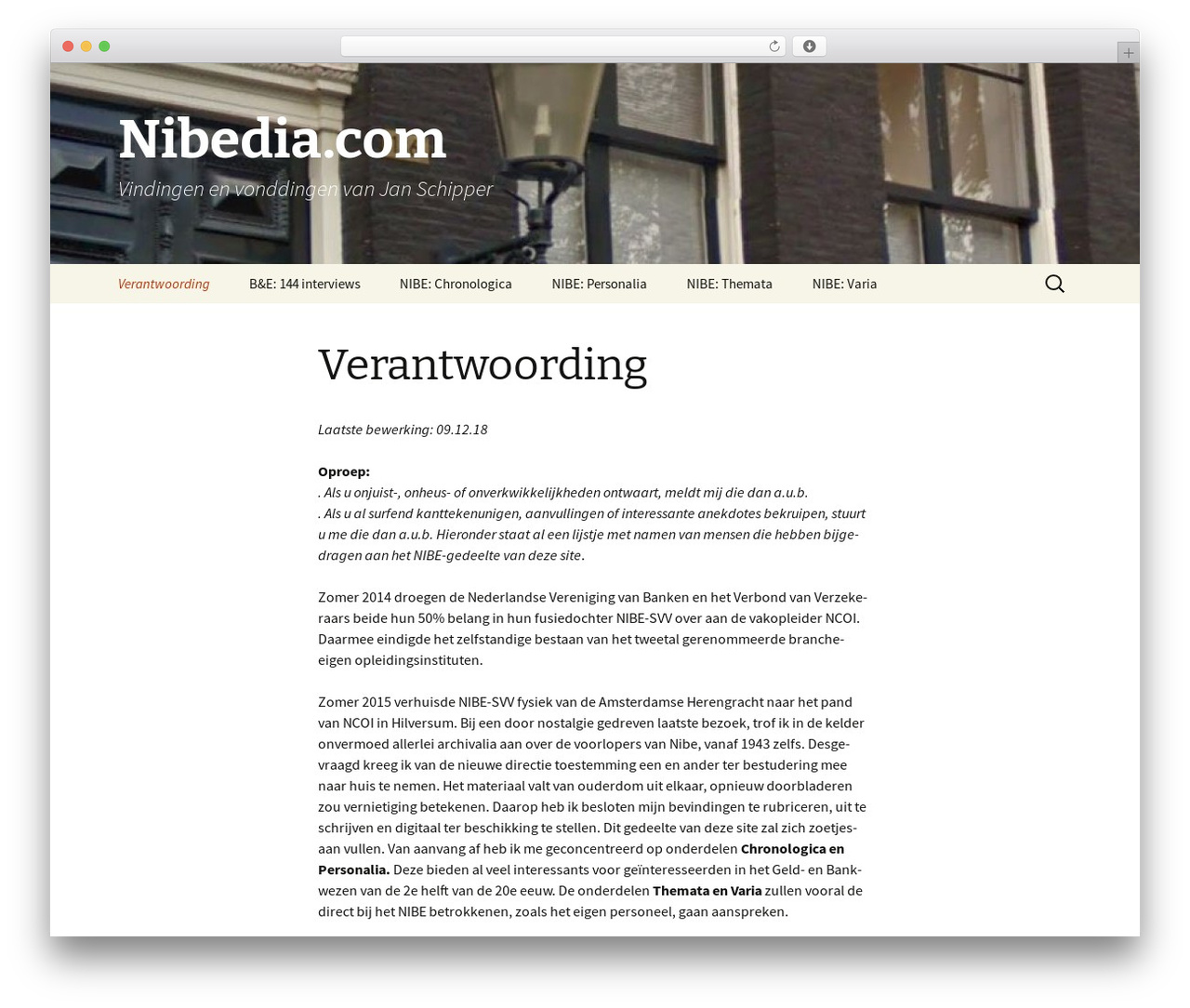 Twenty Thirteen WordPress theme - nibedia.com