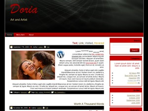 WordPress theme doria