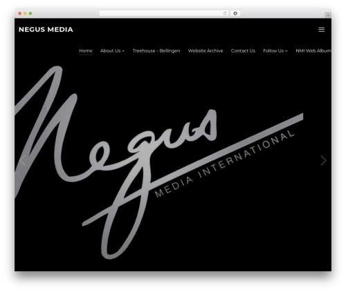 Inspiro WordPress template for business - negusmedia.com.au