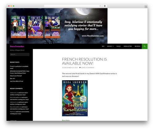 Twenty Fourteen WordPress theme free download - norasnowdon.com