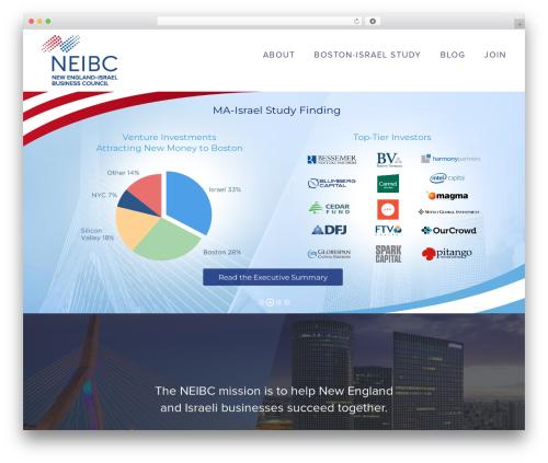WordPress theme Avada - neibc.org