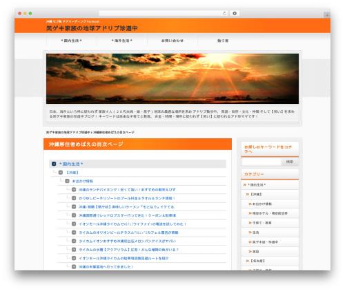 Free WordPress PS Auto Sitemap plugin - nakanishi-mebae.com