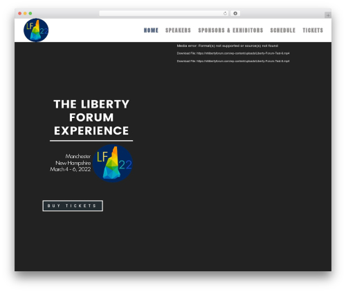 Best WordPress template Divi - nhlibertyforum.com