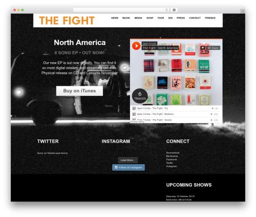 Responsive best WordPress template - newyoungelectric.com/web