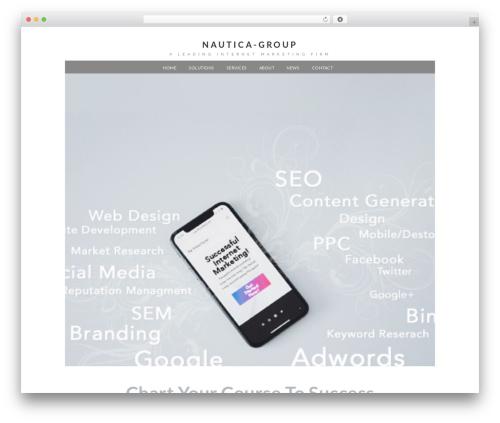 Xccelerator best WordPress theme - nautica-group.com