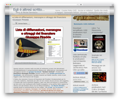 Andreas04 WordPress blog template - nicolaiannazzo.org