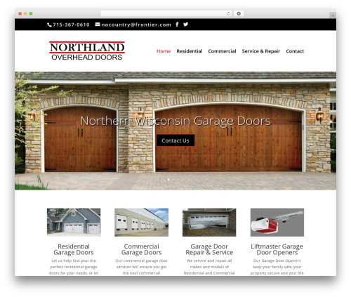 Custom Theme top WordPress theme - northlandoverheaddoors.com