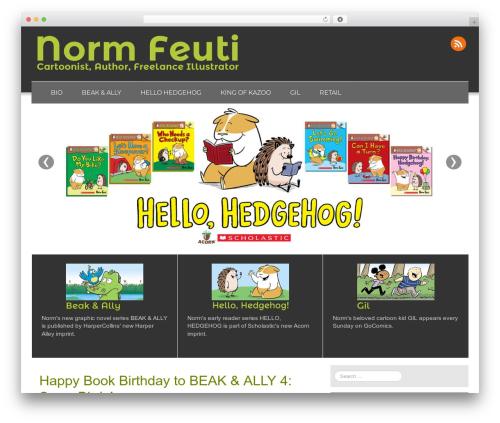Fresh Lite best free WordPress theme - normfeuticartoons.com