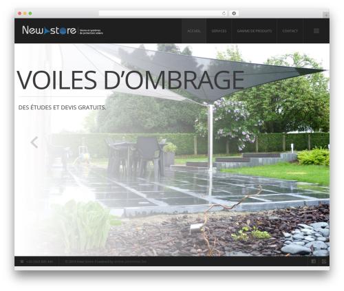 Modern Interior company WordPress theme by mad_dog - chemtrend.sk