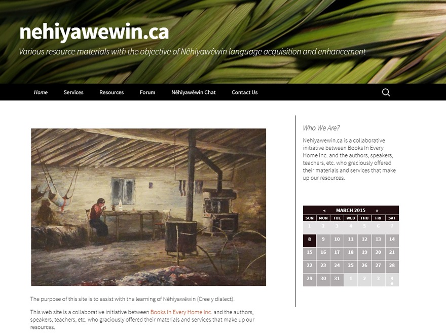 nehiyawewin premium WordPress theme