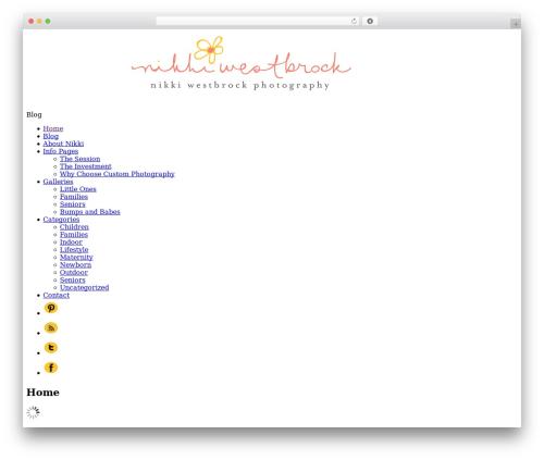 ProPhoto WP theme - nikkiwestbrockphotography.com