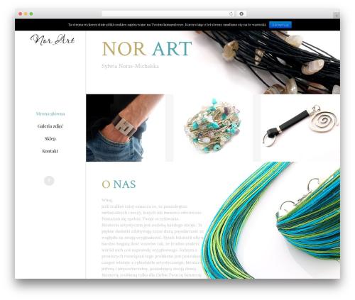 Starflix template WordPress - norart.pl