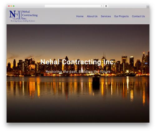 Sydney theme WordPress - nehalcontracting.com