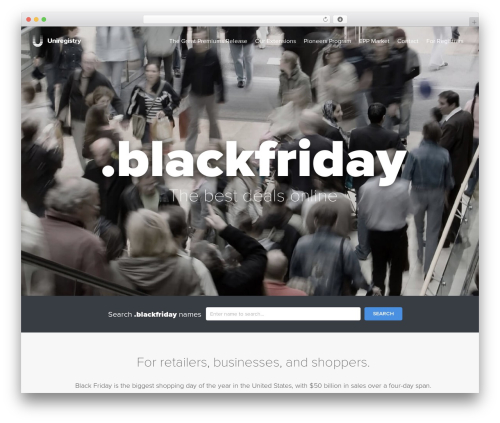 Uniregistry WP template - nic.blackfriday
