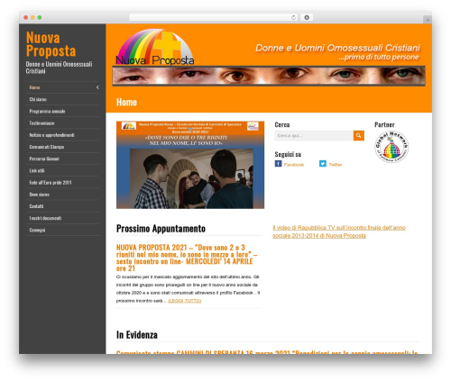 WordPress website template LiveRide Premium - nuovapropostaroma.it