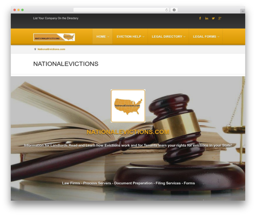 Atlas PMPRO WordPress theme - nationalevictions.com