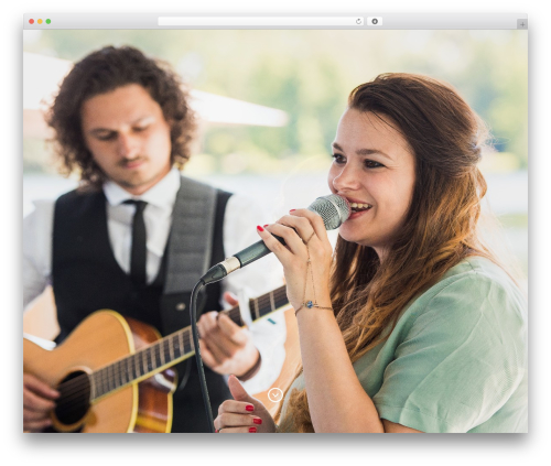 Baylie top WordPress theme - nicolemusic.nl