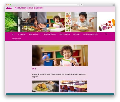 Twenty Thirteen free WordPress theme - nestwaermeplus.de/index