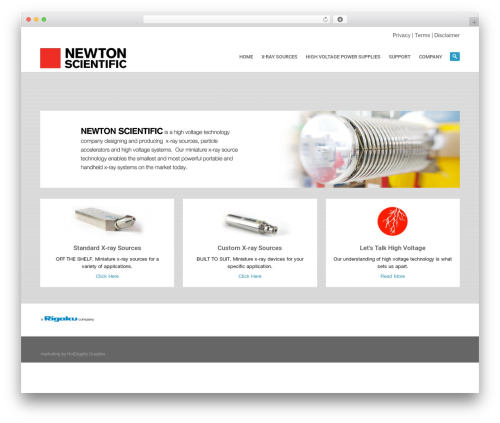 WP theme System - newtonscientificinc.com