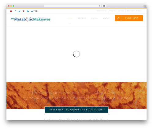 Avada top WordPress theme - themetabolicmakeover.com