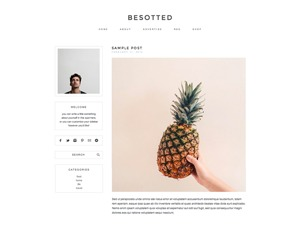 besotted WordPress theme