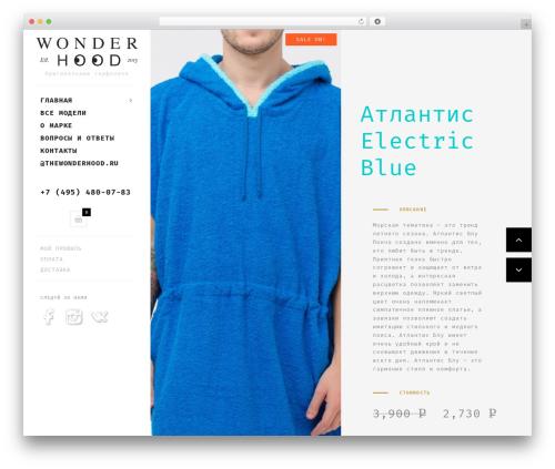Best WordPress template Butiko - thewonderhood.ru