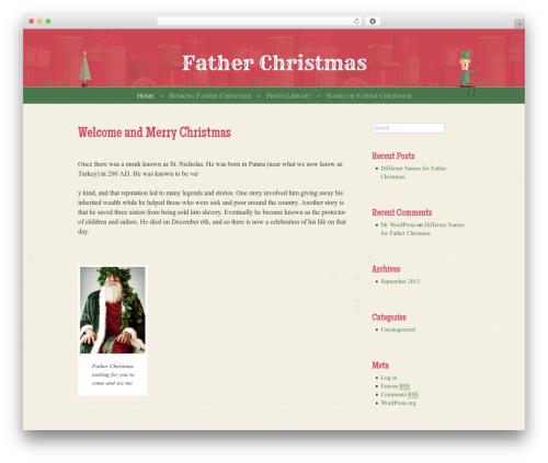 Best WordPress template Cheer - fatherchristmastx.com