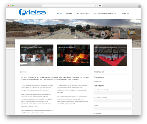 Best WordPress template Hotec - frielsa.com