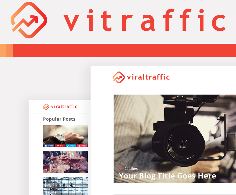 Best WordPress theme Vitraffic Theme