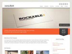 Consultant business WordPress theme