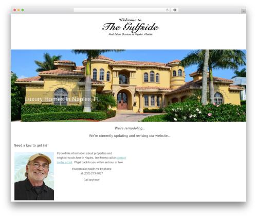 Customizr best WordPress template - thegulfside.com