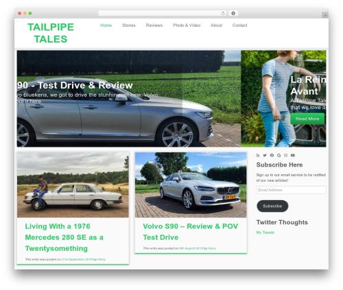 Free WordPress 3D Tag Cloud plugin - tailpipetales.com