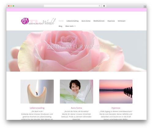 Divi template WordPress - therese-jaeger.de
