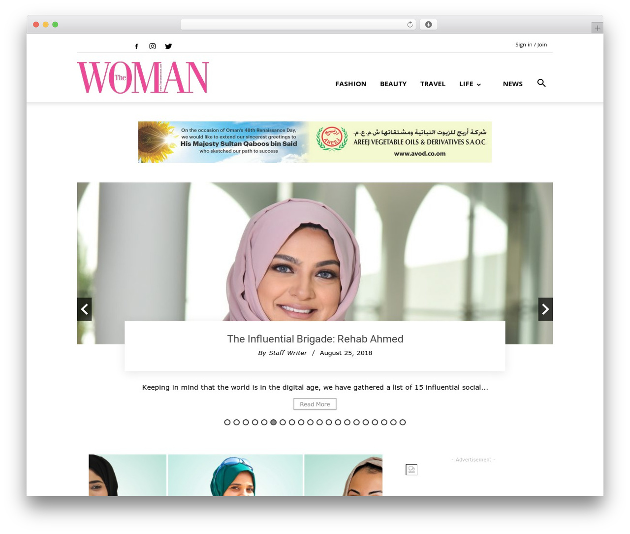 Newspaper best WordPress magazine theme - thewomanoman.com