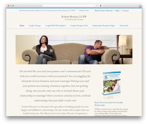 Nimva theme WordPress - therapistorleans.com
