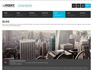 Point Multipurpose Retina WP Theme business WordPress theme