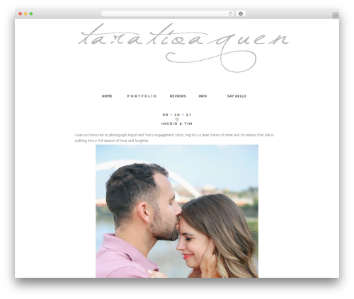 ProPhoto best WordPress gallery - taratioaquenphotography.com