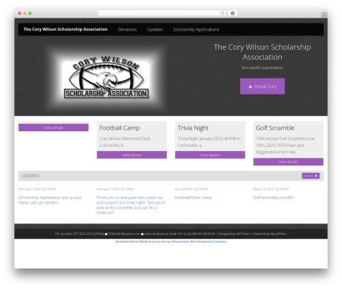 Sensitive premium WordPress theme - tcwsa.org