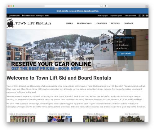 Free WordPress WP Yelp Review Slider plugin - townliftskirentals.com