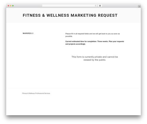 Twenty Seventeen free WordPress theme - fitnesswellnessoffer.com