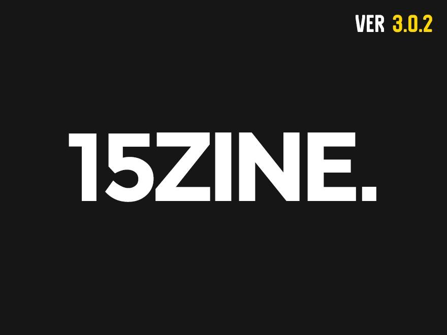 WordPress theme 15zine
