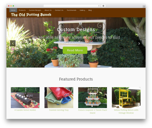 WordPress theme For The Cause - theoldpottingbench.com