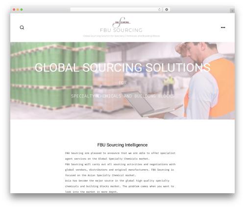 WordPress theme GO - fbu-sourcing.com