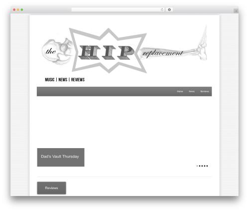 WordPress website template Class - thehipreplacement.net
