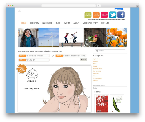 WP template Delicate - thewisedirectory.com