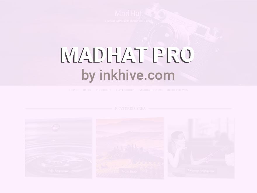 WP theme MadHat Plus